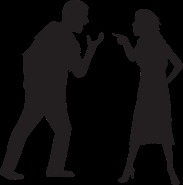 zlost mezi partnery - negativní emoce