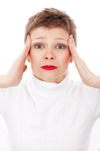 Častá bolest hlavy žena