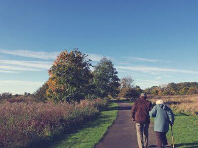 Stáří, stárnutí – starý pár
