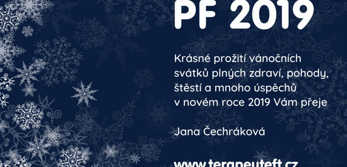 PF 2019 Jana Čechráková - EFT terapie a kvantová terapie Praha