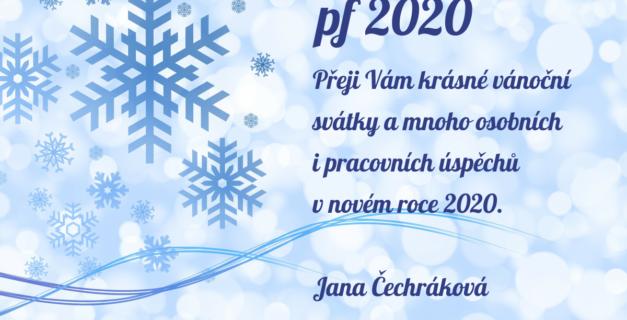 PF2020 Jana Čechráková