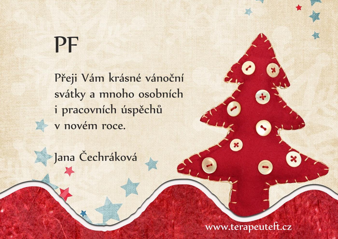 PF 2021 Jana Čechráková
